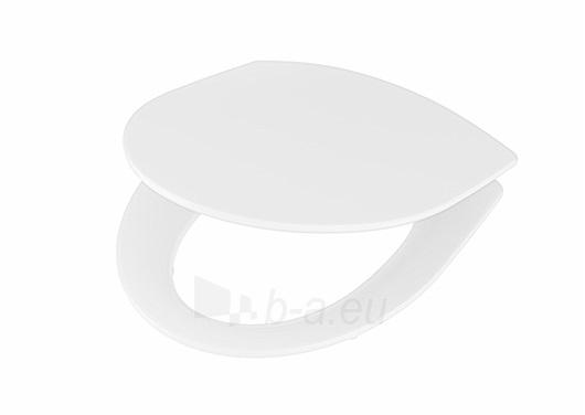 Toilet cover Inspira Art with soft close funkcija, baltas Paveikslėlis 2 iš 3 310820165636