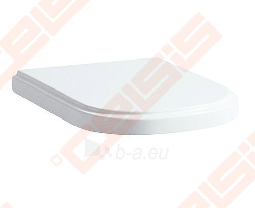 Unitazo dangtis LAUFEN LB3 Classic su Soft close mechanizmu lėtam užsidarymui Paveikslėlis 1 iš 1 270713001133