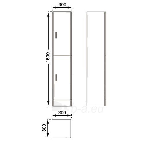 Universali pastatoma spintelė G30DR(G) Paveikslėlis 2 iš 3 30057400184