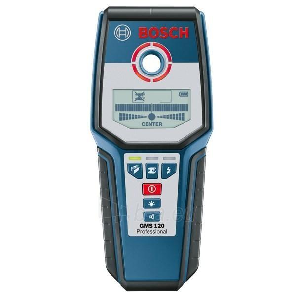 Universalus ieškiklis Bosch GMS 120 Professional Paveikslėlis 1 iš 1 300126000023