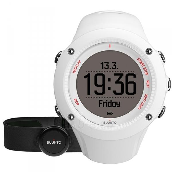 Universalus laikrodis SUUNTO AMBIT3 RUN White HR Paveikslėlis 1 iš 1 310820008648