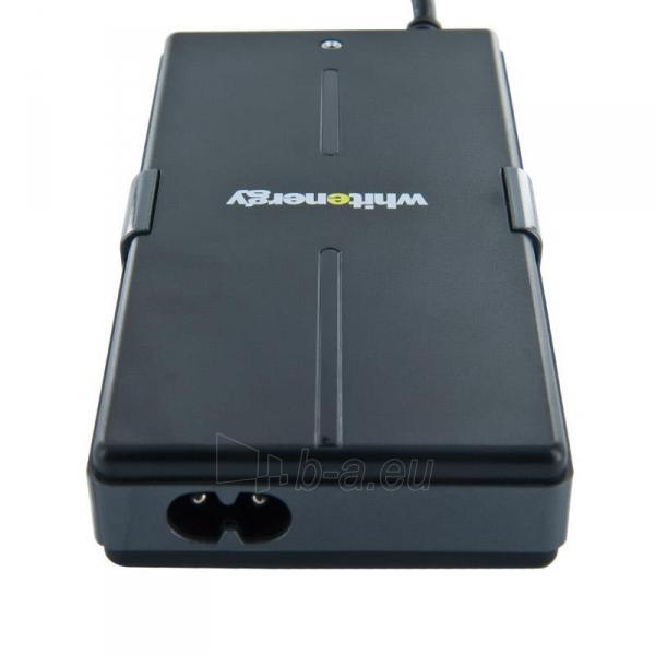 Universalus maitinimo šaltinis Whitenergy 65W, 8 antgalių, USB, Super Slim Paveikslėlis 3 iš 5 250256401099