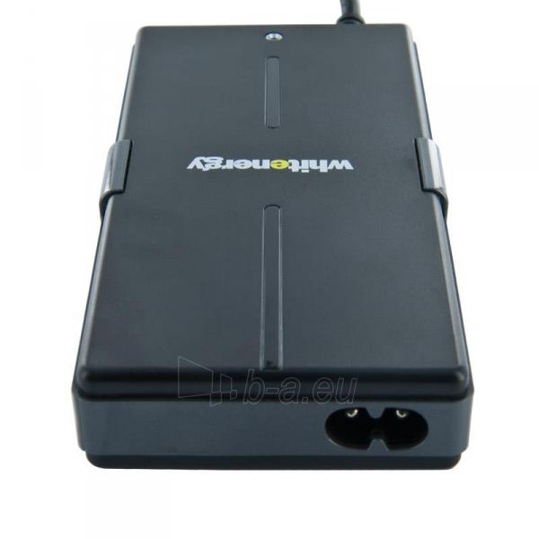 Universalus maitinimo šaltinis Whitenergy 90W, 8 antgalių, USB, Super Slim Paveikslėlis 3 iš 8 250256401102