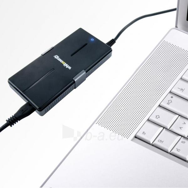 Universalus maitinimo šaltinis Whitenergy 90W, 8 antgalių, USB, Super Slim Paveikslėlis 7 iš 8 250256401102