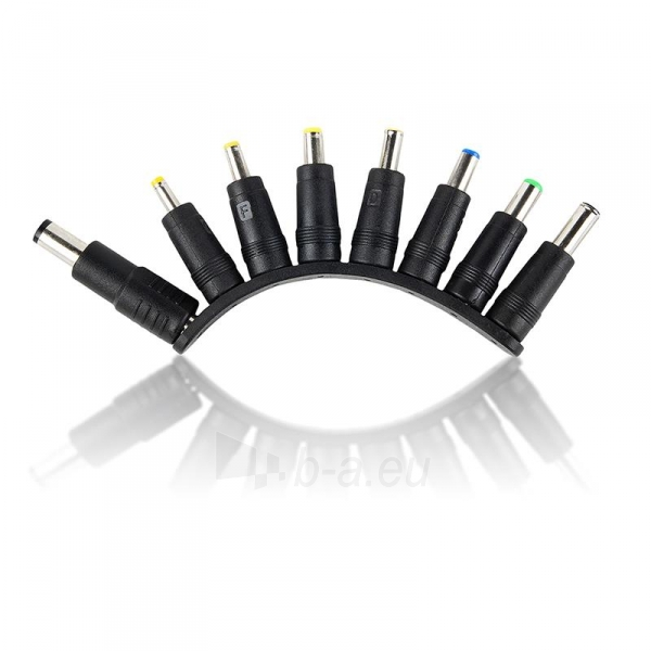 Universalus maitinimo šaltinis Whitenergy 90W  USB, 10 antgalių Paveikslėlis 4 iš 5 250256401314