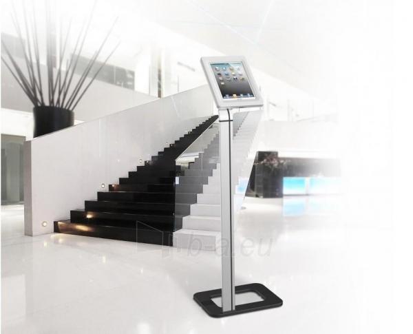 Universalus stovas planšetei Techly Uniwersal floor stand for iPad and tablets 9.7-10.1 with key lock Paveikslėlis 3 iš 3 310820135274