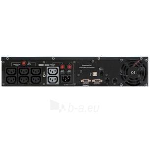 Cyber Power UPS PR2200ELCDRT2U 1600W Rack/Tower 2U  (IEC C13) Paveikslėlis 2 iš 2 250254301204