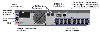 Liebert PSI  1500VA (1350W) 230V Rack/Tower UPS Paveikslėlis 2 iš 2 250254301221