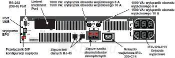 Liebert PSI 1500VA (1350W) 230V Rack/Tower UPS Paveikslėlis 2 iš 3 250254300326