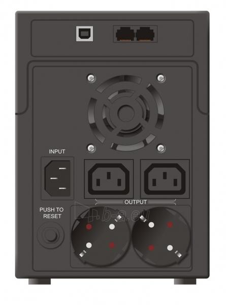 Mustek UPS PowerMust 2212 (2200VA) IEC/Schuko Paveikslėlis 2 iš 2 250254301312