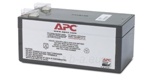 APC Replacement Battery Cartridge Paveikslėlis 1 iš 1 250254300934