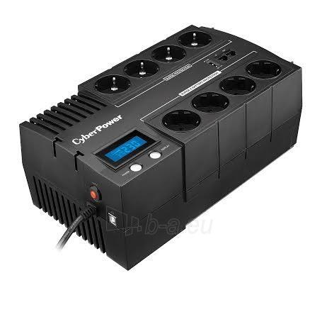 UPS maitinimo šaltinis Cyber Power Green Power UPS BR1000ELCD (Schuko) Paveikslėlis 2 iš 4 310820013412