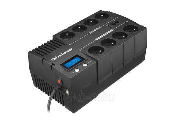 UPS maitinimo šaltinis Cyber Power Green Power UPS BR700ELCD-FR Paveikslėlis 3 iš 4 310820013414