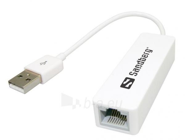 USB - RJ45 konverteris Sandberg Paveikslėlis 1 iš 2 250255081476