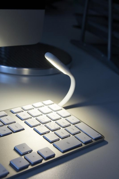 USB lempa LogiLink LED Balta Paveikslėlis 2 iš 3 310820049380
