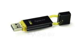 USB raktas APACER 4GB USB2.0 Black Paveikslėlis 1 iš 1 250255120665