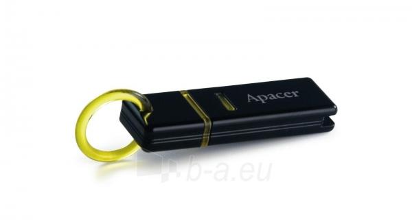 USB raktas APACER AH221 1GB USB2.0 Black Paveikslėlis 1 iš 1 250255120666