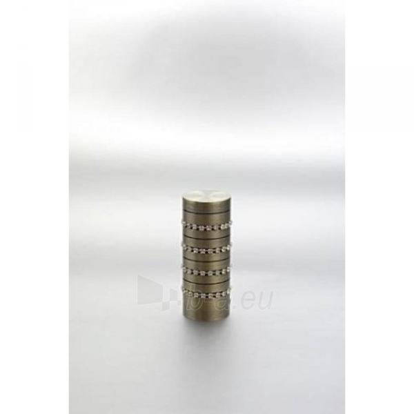 Užbaigimo detalė KRIS 16 mm matinio sidabro Paveikslėlis 1 iš 1 310820062408