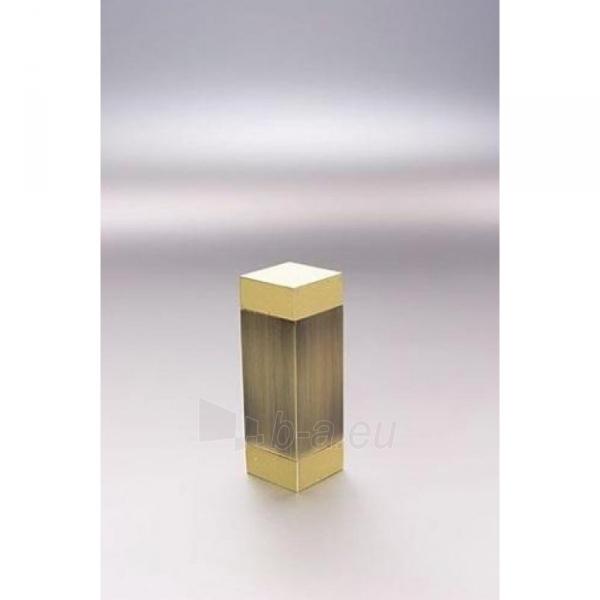 Užbaigimo detalė KWADRO 16 mm sendinto aukso Paveikslėlis 1 iš 1 310820062395