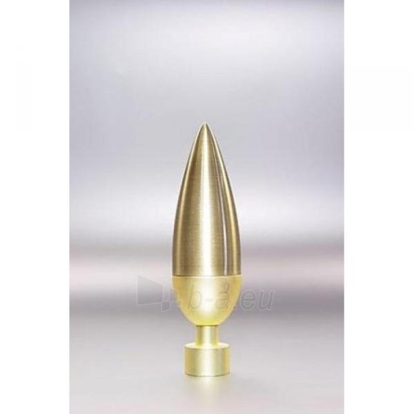 Užbaigimo detalė LINEA 16 mm sendinto aukso Paveikslėlis 1 iš 1 310820062393