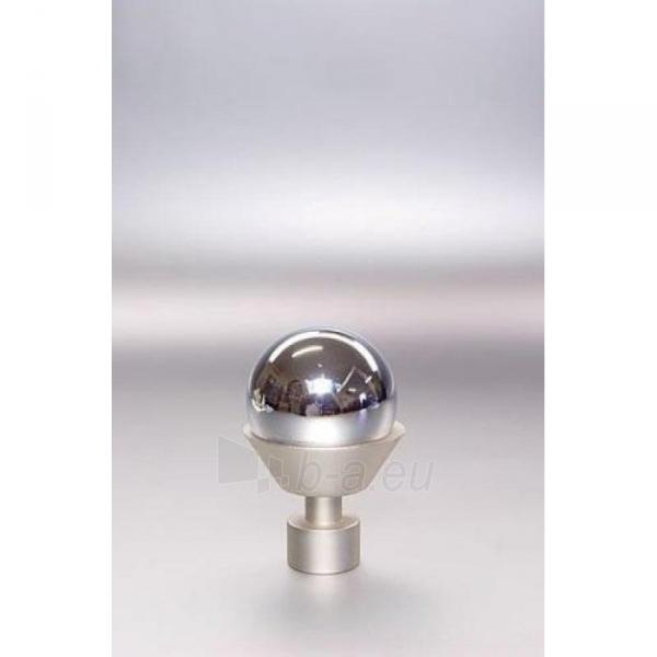 Užbaigimo detalė MELBA 16 mm matinio sidabro Paveikslėlis 1 iš 1 310820062404