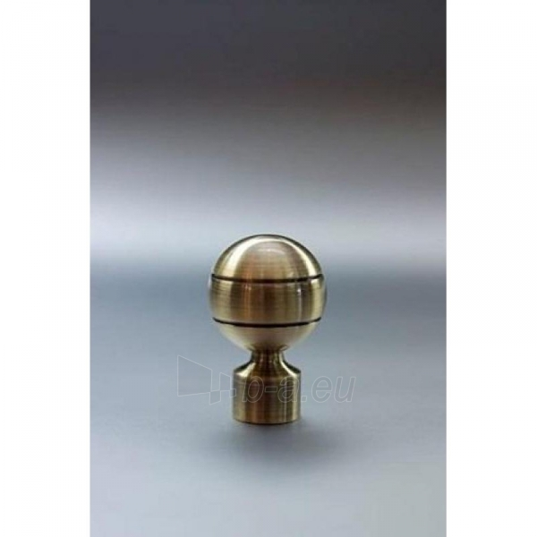 Užbaigimo detalė PAOLA 16 mm sendinto aukso Paveikslėlis 1 iš 1 310820062397