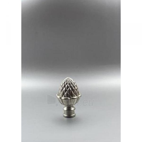 Užbaigimo detalė ZOLADZ 16 mm matinio sidabro Paveikslėlis 1 iš 1 310820062407