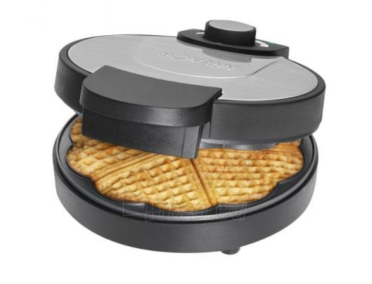 Bomann WA 1365 CB Waffle Maker, 1000 W, Black/Silver Paveikslėlis 1 iš 1 250123910049