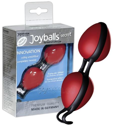 Vaginaliniai kamuoliukai Joyballs secret rot/schwarz Paveikslėlis 1 iš 1 310820022055