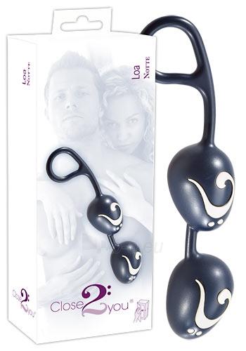 Vaginaliniai rutuliukai Loa (juodi) Paveikslėlis 1 iš 1 25140201000031