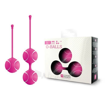 Vaginalinių kamuoliukų rinkinys Mažieji O (rožiniai) Paveikslėlis 1 iš 4 310820023539