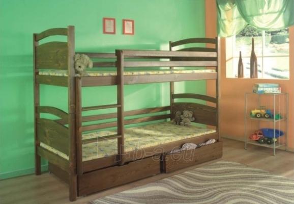 Double bed bed DAWID Paveikslėlis 1 iš 3 250407200023