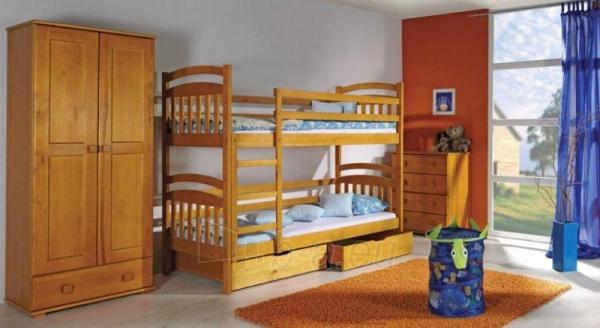 Double bed bed Irek Paveikslėlis 1 iš 5 250407200115