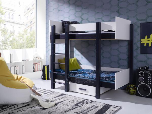 Vaikiška dviaukštė lova NESTOR Paveikslėlis 1 iš 3 310820128646
