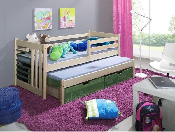 Double bed Szymon Paveikslėlis 1 iš 3 250407200108
