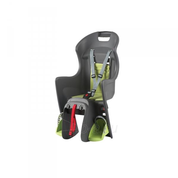 Vaikiška kėdutė dviračiams ABS-Boodie RMS grey/green Paveikslėlis 1 iš 1 310820076932