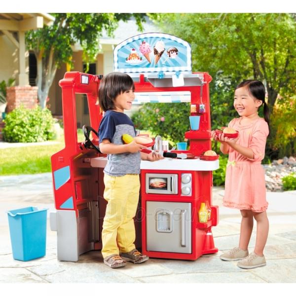 Vaikiška parduotuvė su virtuve | Food Truck 2in1 | Little Tikes Paveikslėlis 1 iš 8 310820174081