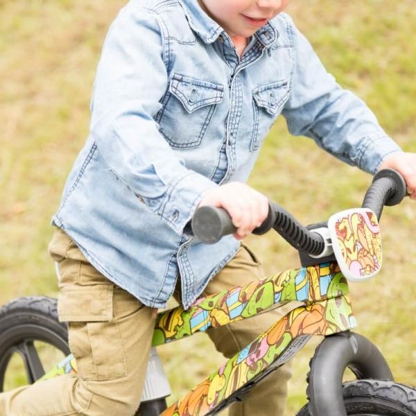 Vaikiškas balansinis dviratukas Pushbike Chillafish BMXie-RS FAD Paveikslėlis 3 iš 4 310820090291
