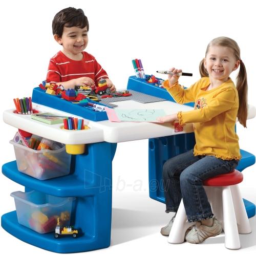 Vaikiškas daugiafunkcis stalas su stalčiais | Step2 Paveikslėlis 1 iš 5 310820004226