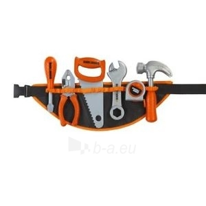 Vaikiškas diržas su įrankiais   Black & Decker   Smoby Paveikslėlis 1 iš 3 250710800828