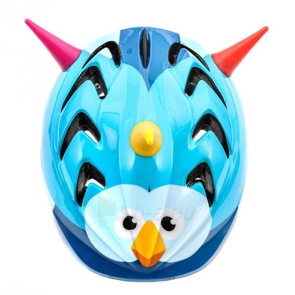 Vaikiškas dviratininko šalmas Meteor MV7 Bird Paveikslėlis 1 iš 1 310820011853