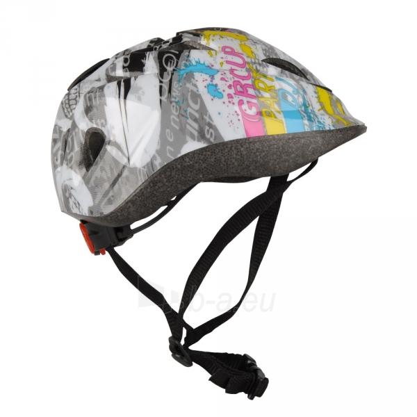 Vaikiškas dviratininko šalmas WORKER Derty Paveikslėlis 1 iš 5 30083100081