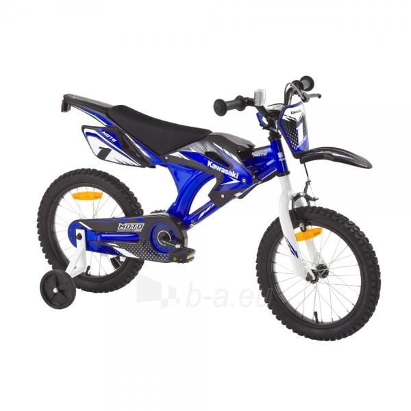 Vaikiškas dviratis KAWASAKI Moto 16 - model 2014 Paveikslėlis 1 iš 9 250702000483
