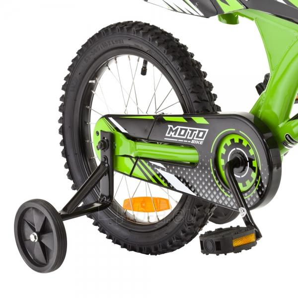 Vaikiškas dviratis KAWASAKI Moto 16 - model 2014 Paveikslėlis 3 iš 9 250702000483