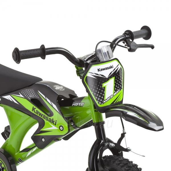 Vaikiškas dviratis KAWASAKI Moto 16 - model 2014 Paveikslėlis 5 iš 9 250702000483