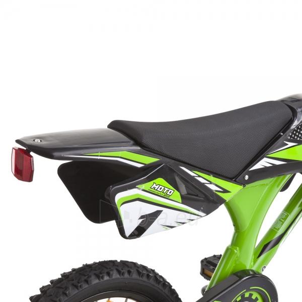 Vaikiškas dviratis KAWASAKI Moto 16 - model 2014 Paveikslėlis 7 iš 9 250702000483