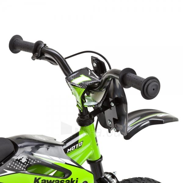 Vaikiškas dviratis KAWASAKI Moto 16 - model 2014 Paveikslėlis 8 iš 9 250702000483