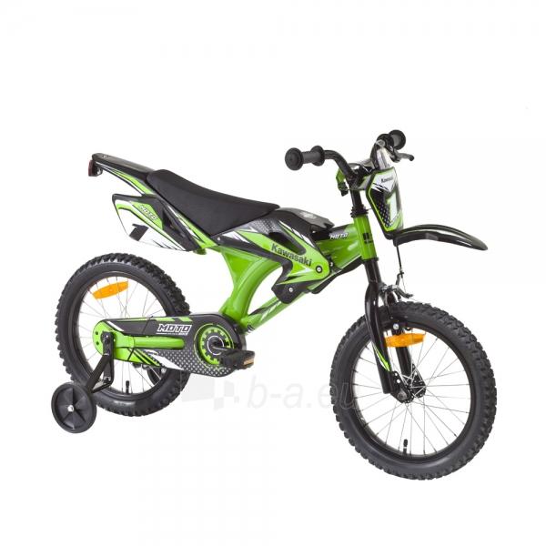 Vaikiškas dviratis KAWASAKI Moto 16 - model 2014 Paveikslėlis 9 iš 9 250702000483