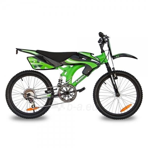 Vaikiškas dviratis KAWASAKI Rebel 20 Paveikslėlis 1 iš 6 250702000377