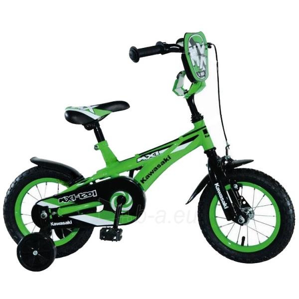 Vaikiškas dviratis KAWASAKI Shrimp 12 Paveikslėlis 1 iš 2 250702000378